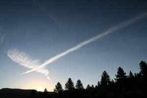 Que voyez-vous dans le ciel? Photo par Ralphman.
